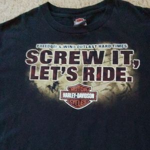 Harley Davidson Tampa. T shirt